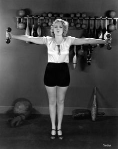 0 Anita Page exercise sports