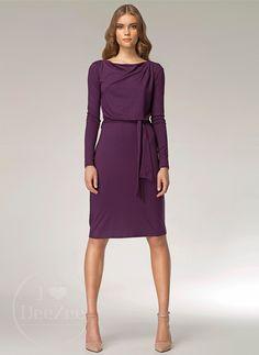 Sukienka wiązana w pasie Violet Dress / 110