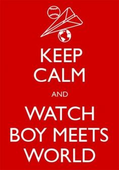 Boy Meets World!!!