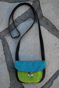 little, silk evening bag