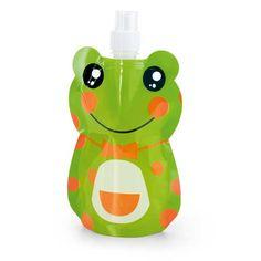 garrafa em forma de sapo