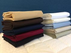 600 Thread Count Solid Sheet Sets