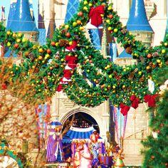 Magic Kingdom Christmas day celebration