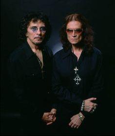 Tony Iommi and Glenn Hughes