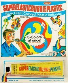 Wham-O Super Elastic Plastic, Vintage Toys, I Remember These! -- ALifeSettlement.com