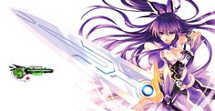 Date A Live Yatogami Tohka Kakoiii Sandalphone Battle Render v2.png (1600×833)