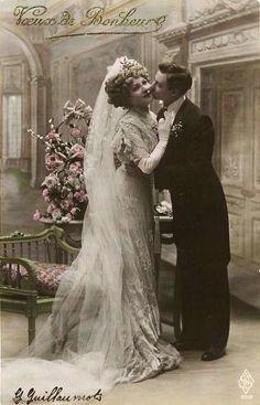 Edwardian era wedding