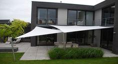 design meubelen zonz zonnezeil schaduwzeil terras overkapping