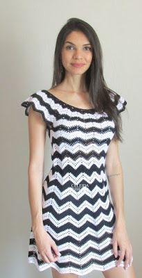 Vestido de crochet Celeida Ribeiro. Fio Charminho, agulha 1,75mm. Amei o fio.. ótimo para pecas de verão, muito macio e super leve!!! Us...