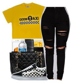 """""""Kings dead✨[Jay rock]"""" by maiyaxbabyyy ❤ liked on Polyvore featuring TAXI, Chanel and Vans"""