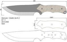Чертежи ножей для изготовления. Часть 2 | LastDay Club image 11