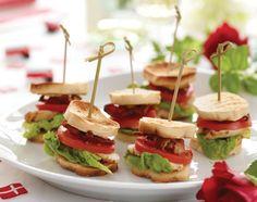 Små sandwich, der helt sikkert vil falde i studenternes smag