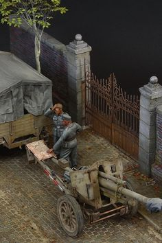AFV Club Sd.Kfz.11 plus leFH18/40 Diorama. Scale 1:35.  By John Tolcher.