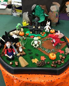 are doing 1 week on 'Room and the Broom' so we have turned our small world in to a magical story setting scene.We are doing 1 week on 'Room and the Broom' so we have turned our small world in to a magical story setting scene.