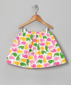Take a look at this Pink & Green Whale Skirt - Infant, Toddler & Girls by Dapple Gray Designs on #zulily today!