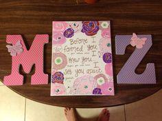 For a twin girl nursery