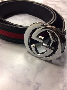 5114f135365 Gucci Men s Black Red Green Leather Web Stripe Belt 44 110  fashion   clothing  shoes  accessories  mensaccessories  belts (ebay link)