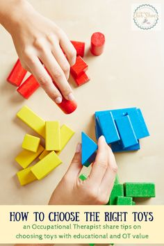 how to choose educational OT toys