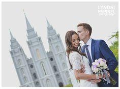 salt lake temple wedding day