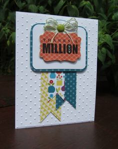 stampin up- word play