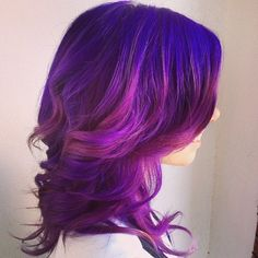 How beautiful are these purple and pink tones?! @sarag_buddy used #sparkscolor to really bring out the brightness on her client. Head over to our website to see our color formulator to customize your perfect shades! #purplepassion #radraspberry #magentamania #purplehair