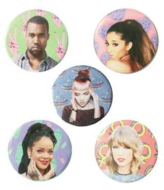 BABES OF MUSIC BADGES