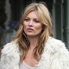 Kate Moss with Brigitte Bardot hair. Good way to transition/grow out bang