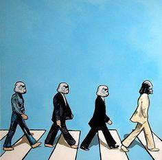 Star Wars / Beatles Abbey Road mashup