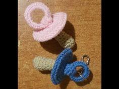Tutorial ciuccio alluncinetto portachiavi amigurumi, My Crafts and DIY Projects