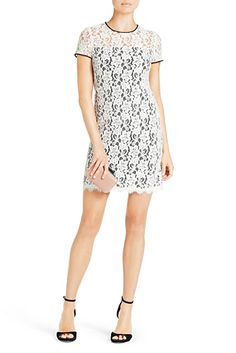 DVF | The Barbie is a stretch lace dress that pairs perfectly over tights in cooler months.  http://on.dvf.com/198b4P6