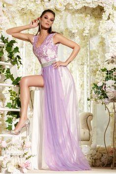 Cu rochia lunga de seara Alice mov esti o diva Alice, Diva, One Shoulder, Formal Dresses, My Style, Girls, Fashion, Dresses For Formal, Toddler Girls