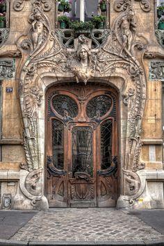Androphilia: Immeuble Lavirotte Paris   France