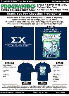 Sigma Chi Fall Recruitment  http://www.greekt-shirtsthatrock.com/
