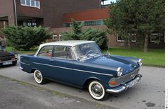 1960 Opel Rekord P2 (01) | The Rekord P II grew in size, if … | Flickr