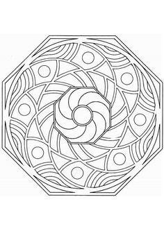 Kleurplaat Mandala kleurplaten (5209) | kleurplaten