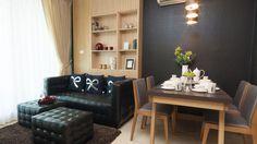 #picoftheday #decoração Móveis, cores e texturas podem ser usadas para separar ambientes.