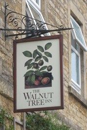 Northamptonshire, England. The Walnut Tree Inn - This is on Station Road Blisworth. Originally built in around 1850, the building was first used as an hotel to accommodate railway travellers on overnight stopovers.Then called the Blisworth Hotel .