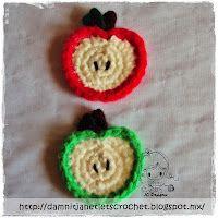 damn it Janet, let's crochet!: Apple Appliqué