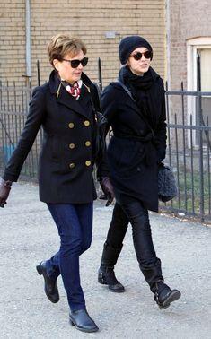Carey with her mum