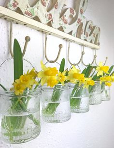 Frühlingsdeko auch für die Küche