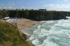 Lusty Glaze, Newquay. One of my most favourite places on this Earth. Great memories :D