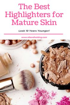 Best Highlighter, Highlighter Makeup, How To Use Makeup, Beauty Over 40, Makeup Over 40, Best Makeup Products, Health And Wellness, Highlights, Makeup Lessons