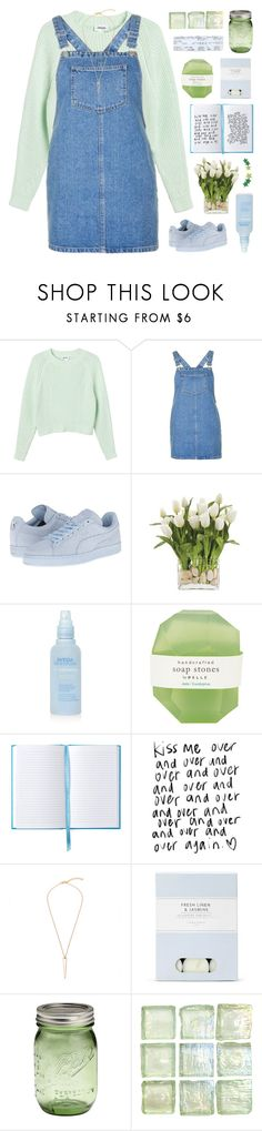 """""""LET'S RUN AWAY THIS SPRING"""" by emmas-fashion-diary ❤ liked on Polyvore featuring Monki, Topshop, Puma, INC International Concepts, Aveda, Pelle and Laura Ashley"""