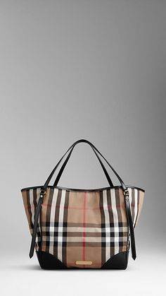 Medium House Check Tote Bag | Burberry