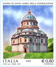 2015 - Patrimonio artistico e culturale italiano - Tempio di S.Maria della Consolazione -Todi
