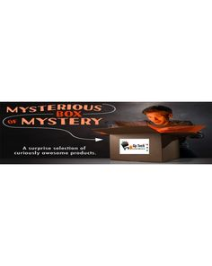 MYSTERY BOX LARGE Mystery Box, Awesome Things