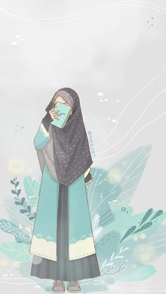 Your scarf is central to the bit within the garments of women along with hijab. Hijab Drawing, Islamic Cartoon, Pop Art Wallpaper, Anime Muslim, Hijab Cartoon, Islamic Girl, Cute Cartoon Wallpapers, Anime Demon, Cartoon Art