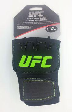 UFC HYPERLITE GEL FITNESS & MMA TRAINING GLOVES PAIR (L/XL) -- NEW #UFC
