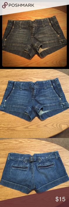 Casual AE Trouser Shorts Soft denim, casual style! Be comfy and stylish - at a steal!! American Eagle Outfitters Shorts Jean Shorts