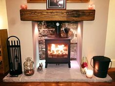 Welcome to Yorkshire Stoves and Fireplaces, specialists in the installation of wood burners, multi-fuel stoves, and a wide range of gas and electric models. Arrange your free home consultation today. Gas Stove Fireplace, Wood Burner Fireplace, Home Fireplace, Fireplace Surrounds, Fireplace Design, Fireplaces, Wood Stove Surround, Wood Stove Hearth, Wood Burner Stove